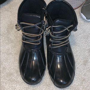 Steve Madden duck rain boots